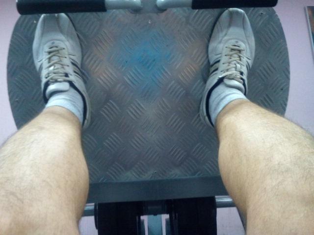 Жим ногами 2