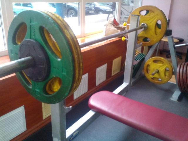 жим лёжа 105 кг