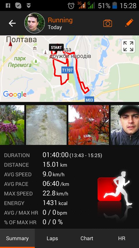 15 километров