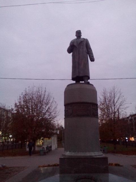 Полтава. Памятник генералу Зыгину
