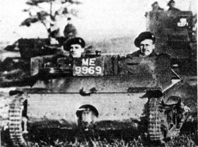 80 лет танкетке Карден-Ллойд Мк. VI