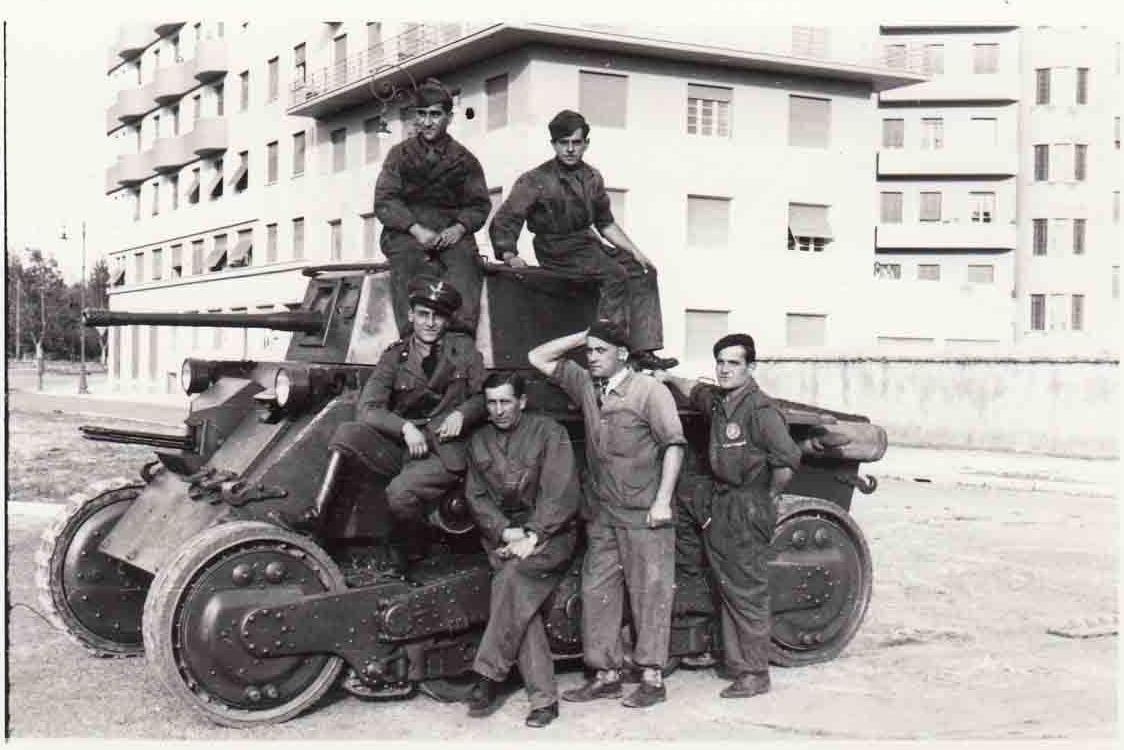 Straussler V-4 в колесном варианте