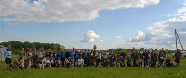 Спаниелисты на XII Всероссийской выставке охотничьих собак