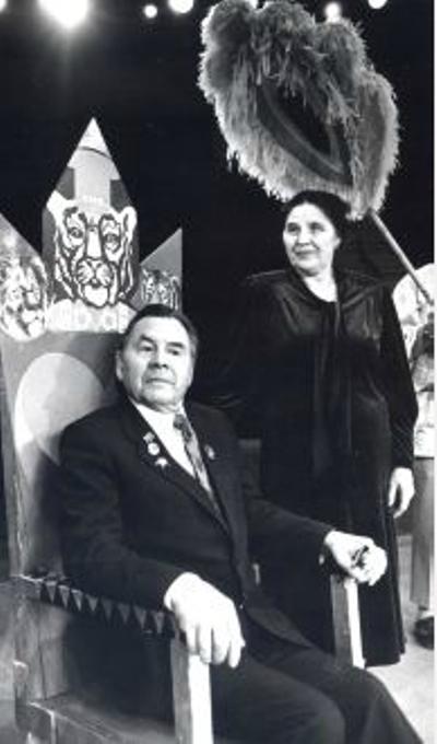 Иван Федорович с супругой