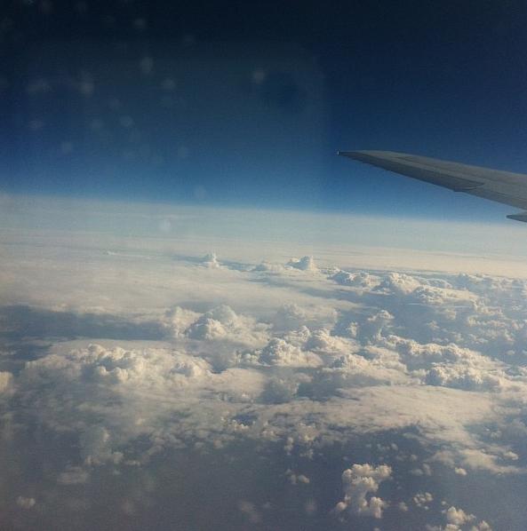 Полет в Хабаровск.