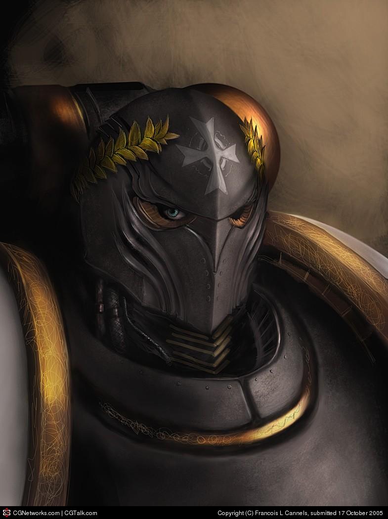 Black Templars' Sergeant