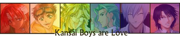 Kansai Boys are Love