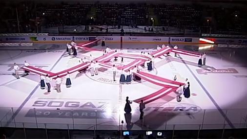 Спортивные проблемы хоккейного нацизма.