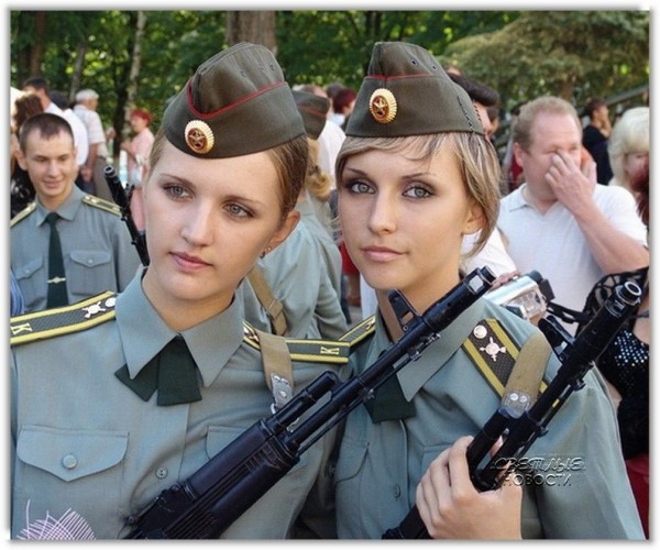 Так какая армия самая красивая?