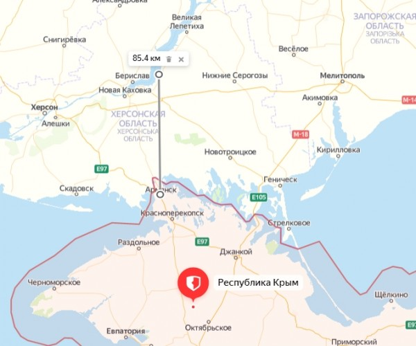 Как дела с водой в Крыму?