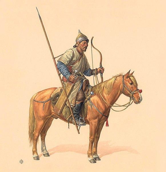 14в. Ордынский конный воин