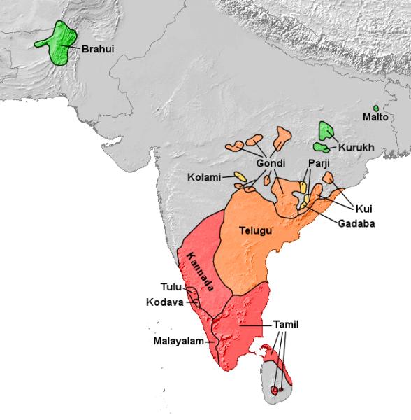Dravidian_subgroups
