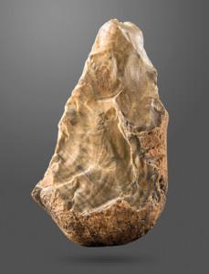 Biface_(trihedral)_Amar_Merdeg,_Mehran,_Ilam,_Lower_Paleolithic,_National_Museum_of_Iran