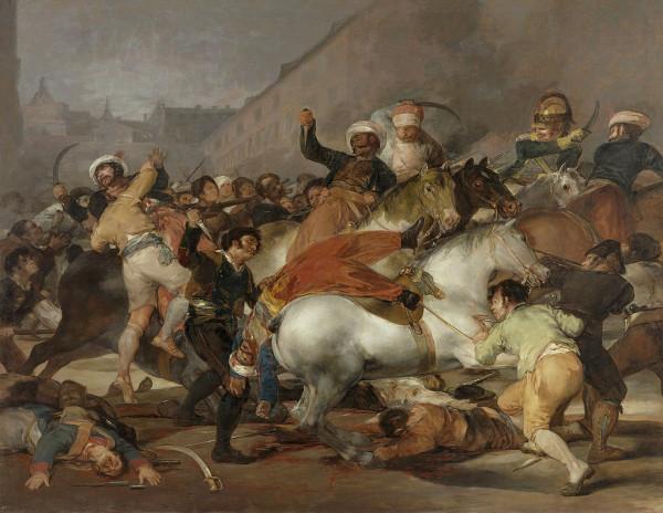 Наполеон и Монгольская империя - что общего? Или почему Наполеон типичный 1024px-El_dos_de_mayo_de_1808_en_Madrid