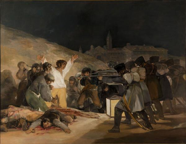 Наполеон и Монгольская империя - что общего? Или почему Наполеон типичный 1024px-El_Tres_de_Mayo,_by_Francisco_de_Goya,_from_Prado_thin_black_margin