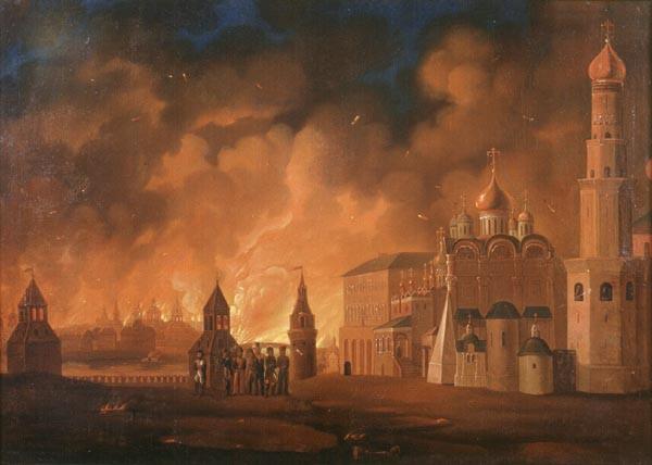 О неочевидной связи Кутузова и Сердюкова Fire_of_Moscow_1812