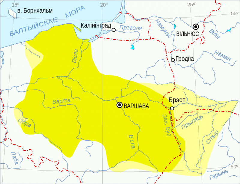 Славянская основа. Pomeranian_culture_map_bel.svg