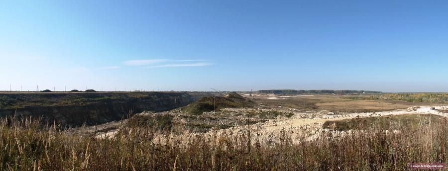 афан.карьер панорама