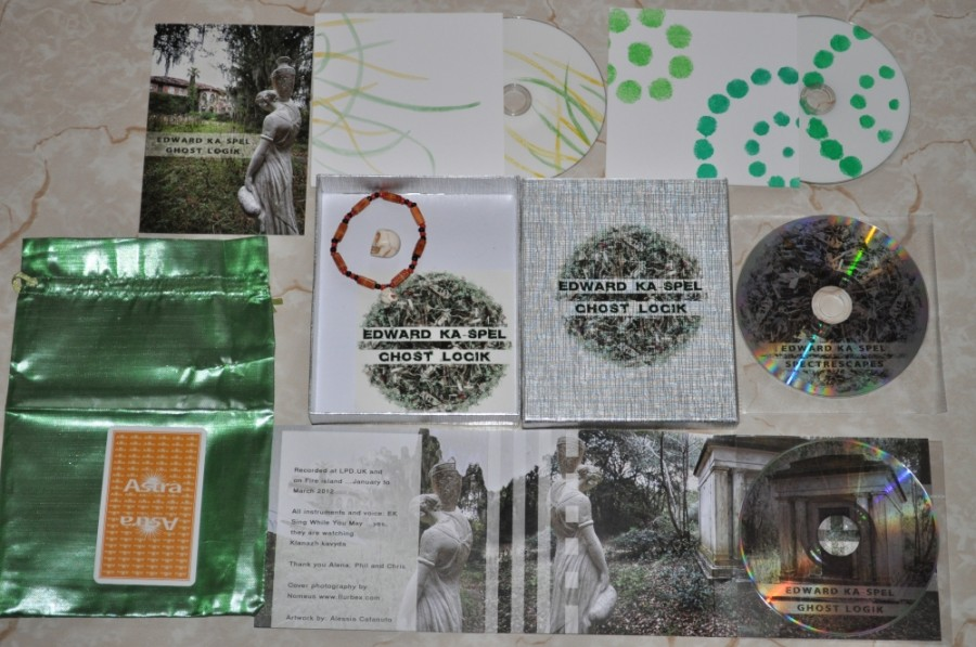 "Edward Ka-Spel ""Ghost Logik"" (Deluxe Silver Box Edition) (99 copies)"