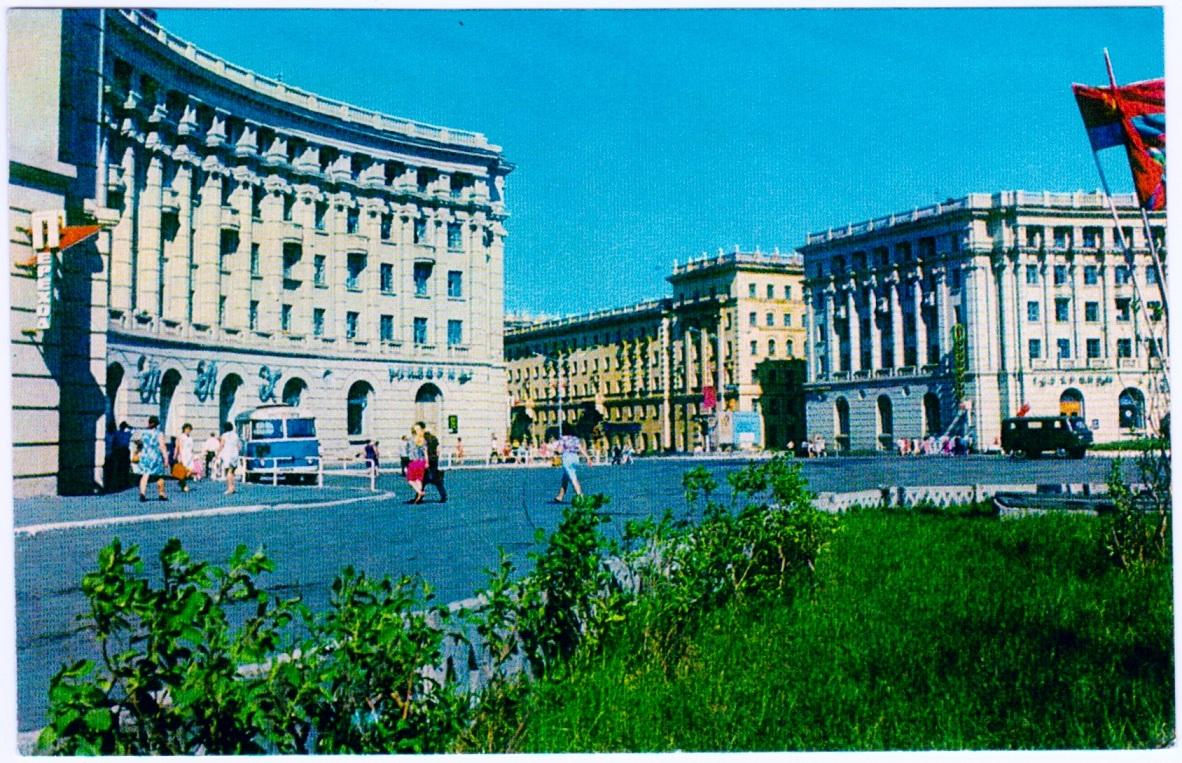 Норильск на открытках
