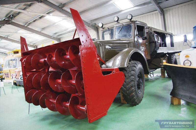 Маз-502 снег д-450