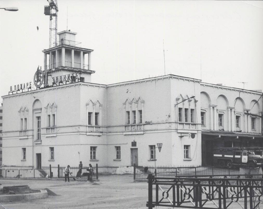Старое пожарное депо. ф. Плеханов