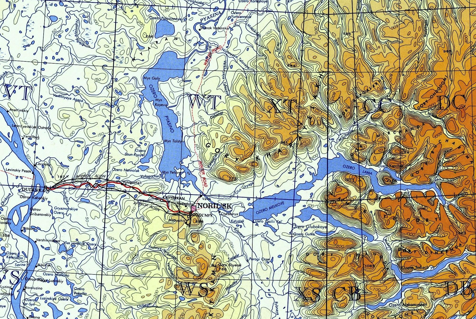 1964 Норильск США карта — копия.jpg