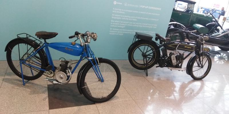 17. Два единственных мотоцикла.