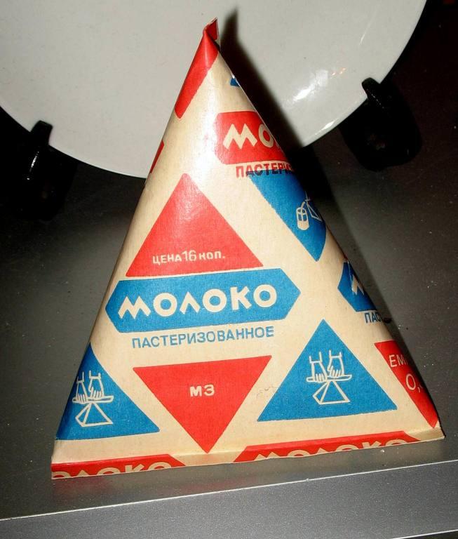 Молоко треугольное