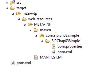 Folder and files for tc server