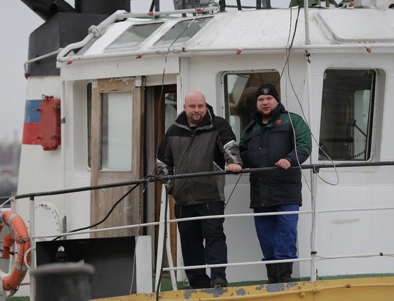 Михаил Шульгин и Антон Гнатюк считают свою работу неординарной и очень интересной