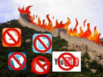 у китая своя цензура на зарубежные соц сети