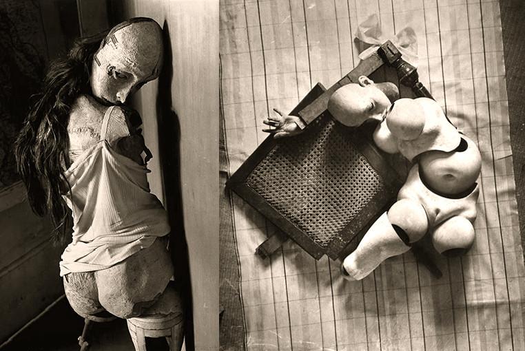 Ханс Беллмер (Hans Bellmer) шарнирные куклы фотограф художник