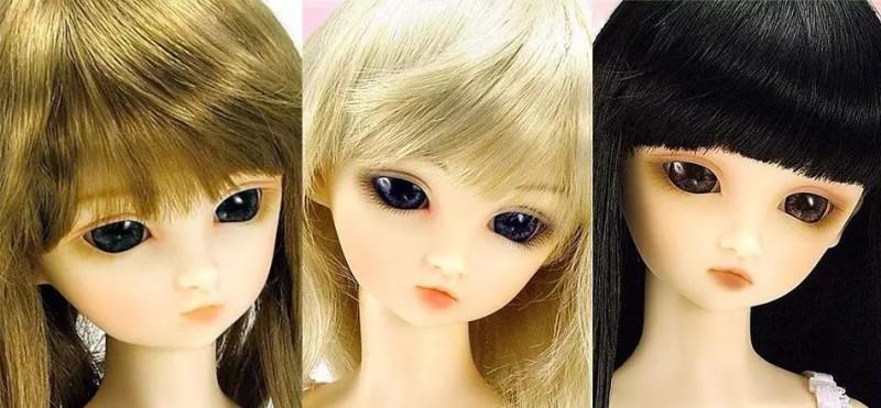 Super Dollfie Volks самые первые куклы