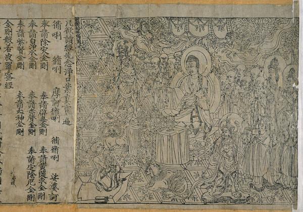Книгопечатание в Китае впервые изобретения сделанные в китае книги ксилография сутра