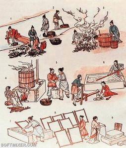 Цай Лунь технология изобретения бумаги в Китае. первые изобретения