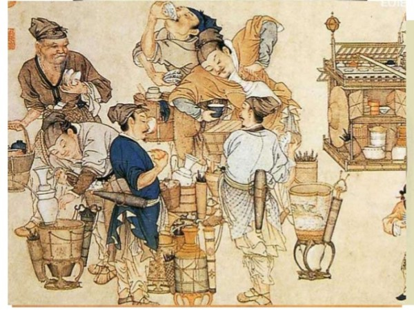 история создания чая Китай производство чая история чаепитие чайная церемония