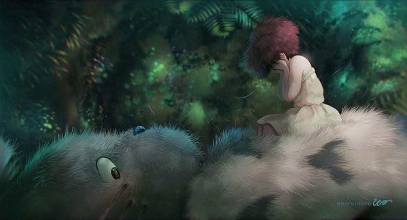 студия Дзибли (Studio Ghibli Rodrigo Alexandrino Мой сосед тоторо фильм мультфильм аниме анимационный фильм
