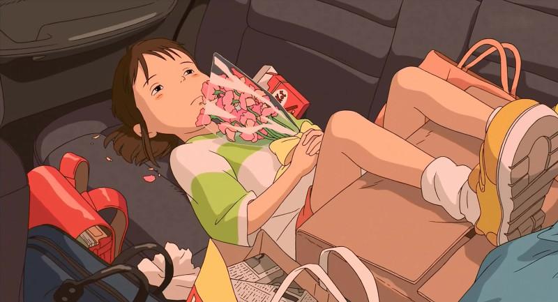студия Дзибли (Studio Ghibli Rodrigo Alexandrino Чихиро Chihiro унисенные призраками мультик аниме анимационный мульт сериал Хоку Тихиро. Чихиро . девочка попала в сказочный мир