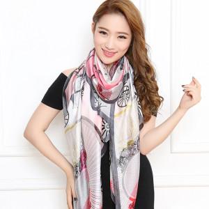 подарок на новый год рождество что подарить на новый год рождество девушке любимой шарф шаль шелковый платок из китая Севастополь