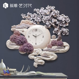 что подарить на новый год рождество девушке любимой часы настенные настенные часы в китайском стиле часы панно часы декор из китая Севастополь