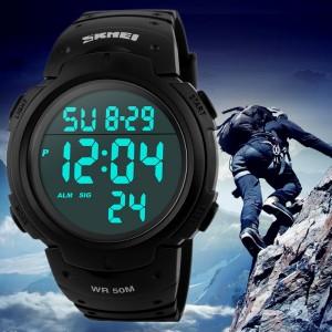 что подарить на новый год рождество молодому человеку папе дедушке парню другу часы часы спортивные милитари военные водонепроницаемые светяжиеся из китая Севастополь