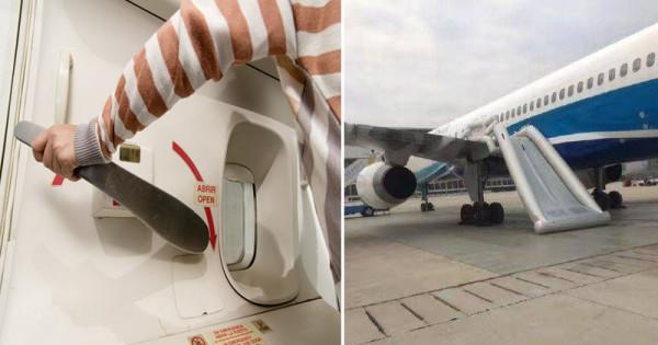 Топ-10 Китайских неадекватных-туристов по версии Shanghaiist в 2017 аварийный выход самолет не взлетел надулся трап китаянка дернула ручку