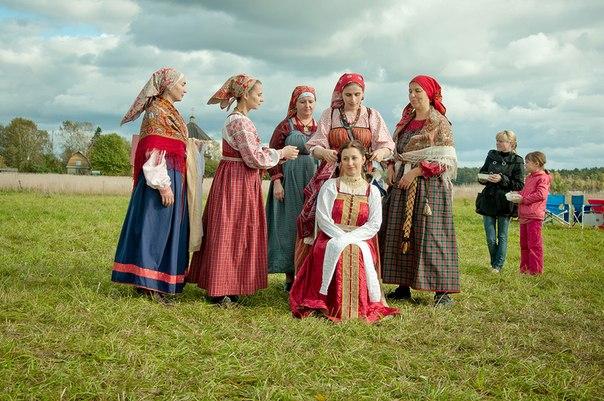 Новолетие в Пречистом бору. Свадебный обряд.