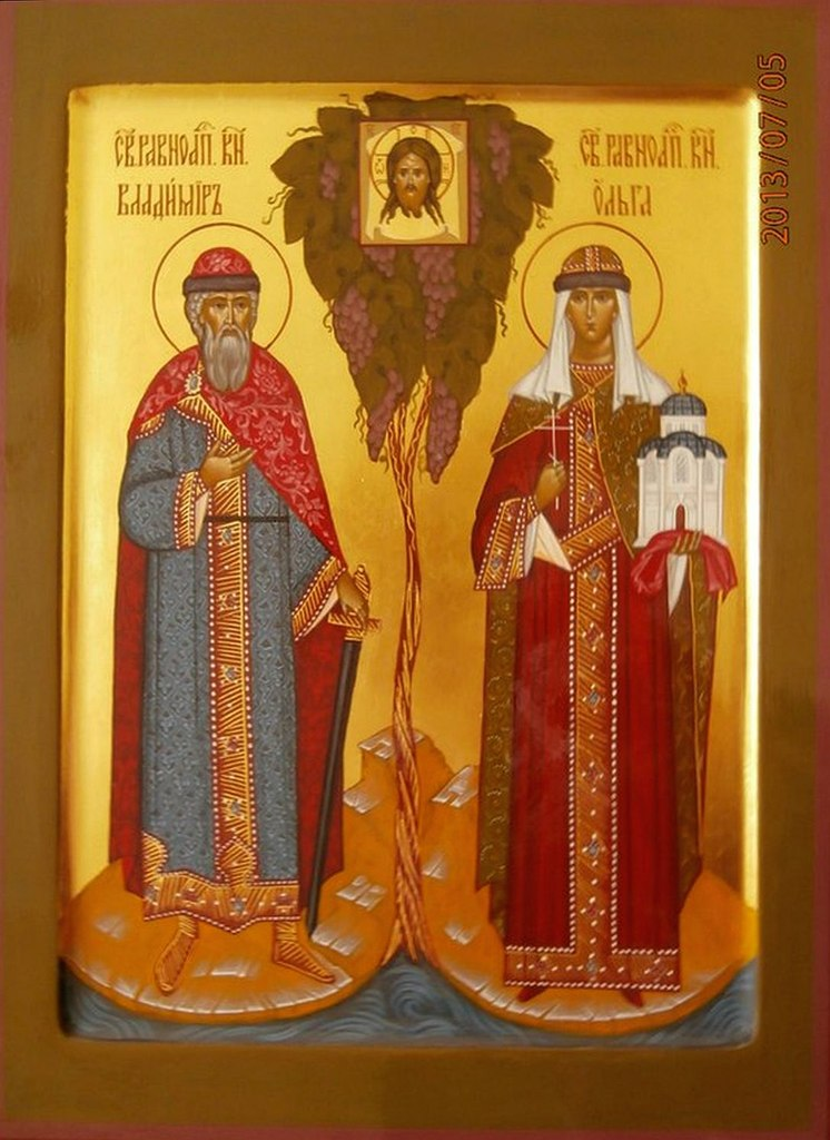 Образ св. Владимира и Ольги