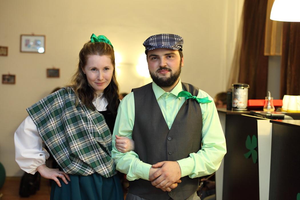 Вечер ирландской музыки в Твери. Тверской православный молодежный клуб