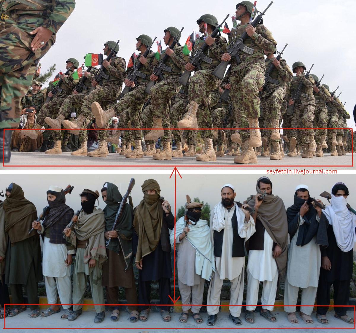 Причина побед Талибана*