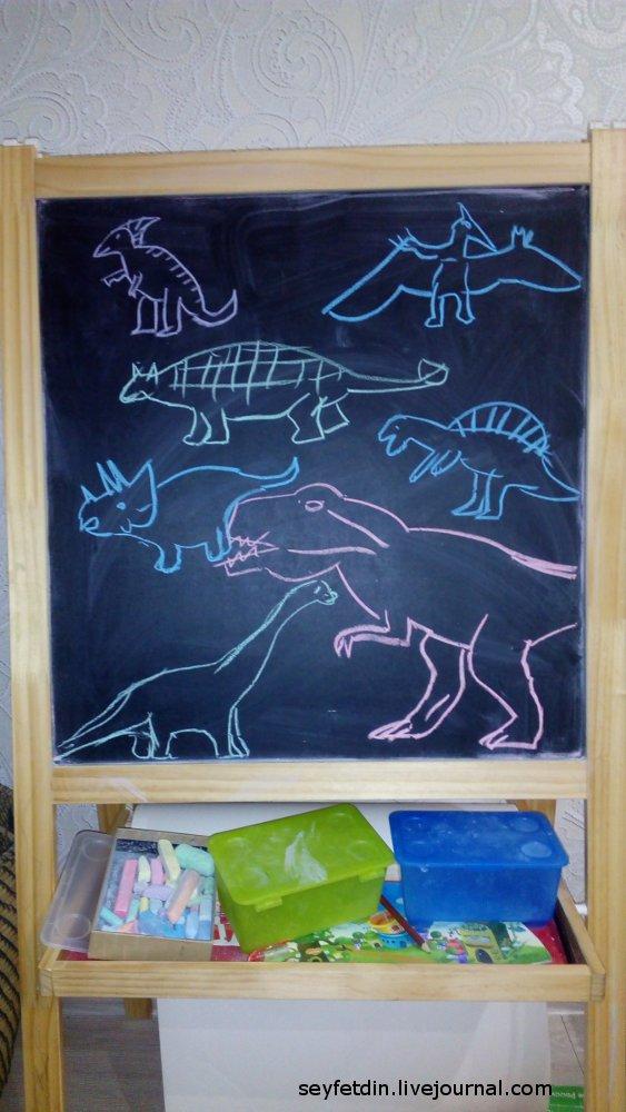 динозавры атакуют