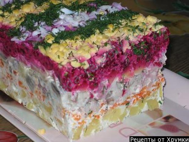 Сельдь под шубой пошаговый рецепт с фото