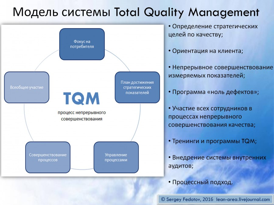 the origin and ingredients of total quality management system Management system, while gmp ensures that regulatory requirements are met • although there is inevitably some overlap between the requirements of a qms and gmp they are, in fact, highly complementary.